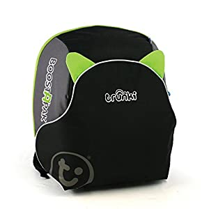 Trunki BoostApak - Travel Backpack & Child Car Booster Seat for Group 2-3 (Green) Maxi-Cosi A multi-stage car seat suitable for babies, toddler and children from 9 months to 12 years (approx. 9 - 36 kg) Easy adjustable and smooth headrest of this reclining car seat grows along in 11 steps to provide ultimate comfort for your little one Solid isofix installation with top tether offers great stability for this convertible car seat 4