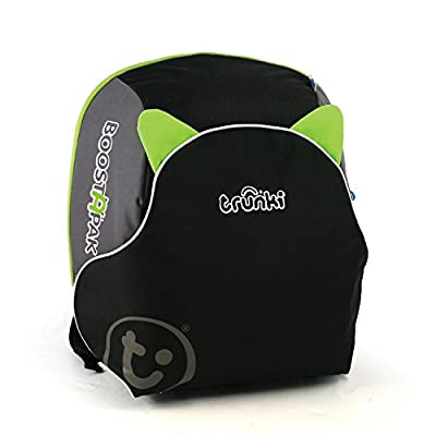 Trunki BoostApak - Travel Backpack & Child Car Booster Seat for Group 2-3 (Green)  Britax Excelsior Ltd (First Order Account)