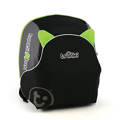 Price comparison product image Trunki BoostApak Travel Backpack Booster Car Seat (Green)