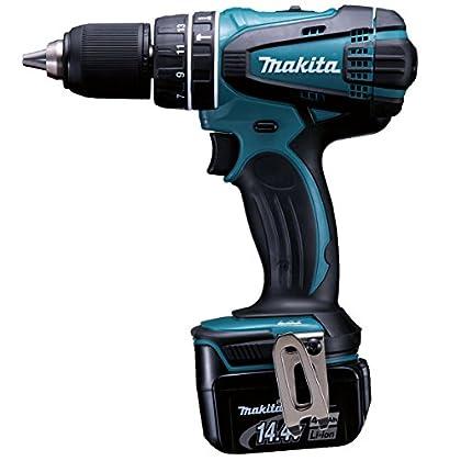 Makita DHP446RMJ Atornilladora, 14.4 V, Negro, Azul
