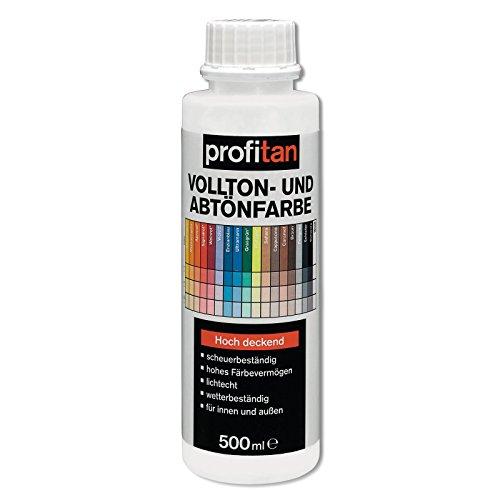 ROLLER profitan Vollton- und Abtönfarbe - weiß - 500 ml