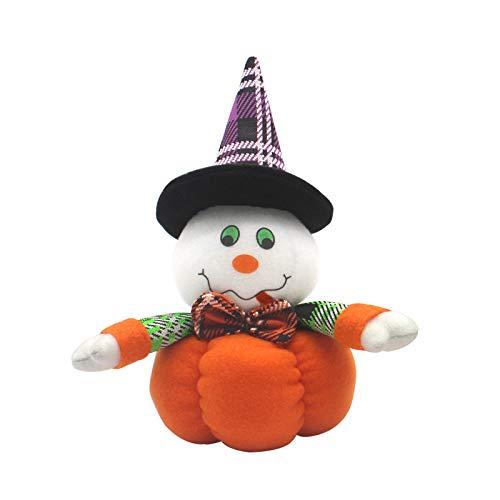 Trolle Puppen Kostüm - YWLINK PlüSch KüRbis Dekoration Halloween Puppen Kinderspielzeug Süß Geburtstag Geschenk (A,24*12cm)