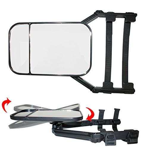 LAS 2X Caravanspiegel universal für PKW Wohnwagen-Spiegel Set Paar mit E-Zulassung