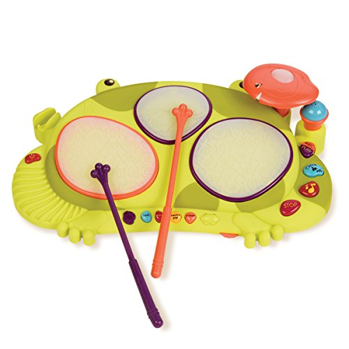 B Ribbit-Tat-Tat Musical Instrument Toy