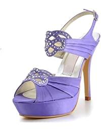 Chaussure de mariée satin