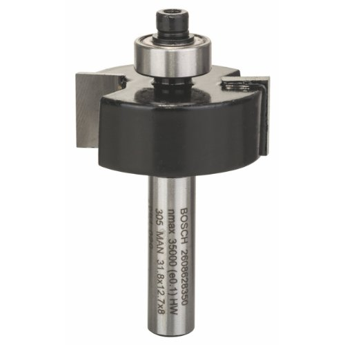Bosch Zubehör 2 608 628 350 Falzfräser 8 mm, B 9,5 mm, L 12,7 mm, G 54mm