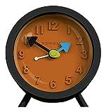 Uhr Wecker Silikon Farbe schwarz/rot