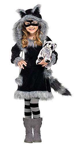 Kleinkind Kostüm Waschbär Baby - Waschbär Kostüm für Kleinkinder