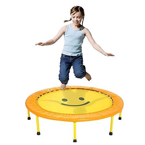 Trampolin, Mini-Falt-Trampolin für Kinder mit 48-Zoll-Fitness-Bouncer mit Sicherheitsfederabdeckung - Max Load 150KG
