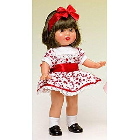 Mini Mariquita Pérez Vestido Estampado Rojo