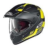 X-Lite-com 551gt Calama Enduro Casco Moto Fibra composita N-nero opaco/giallo