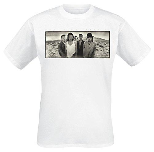 U2 Joshua Tree T-Shirt weiß XL