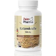 Cápsulas de Uña de Gato 500mg de ZeinPharma • 90 cápsulas (un mes de suministro