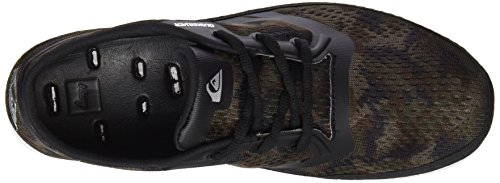 Quiksilver  AG47 Amphb Shoe, Sneakers Basses homme Green/Black/Brown