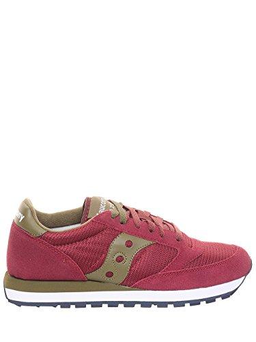 SAUCONY uomo sneakers basse S70254-1 JAZZ ORIGINAL 40.5 Bordeaux-verd