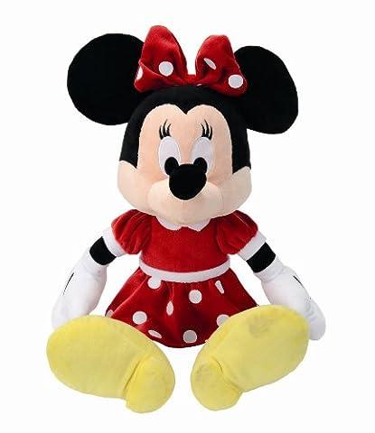 Disney Doudou Red Dress Minnie - 50 cm