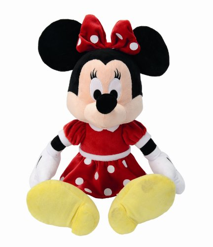 isney Plüsch Minnie Maus im Polka Dot Dress 50 cm (Riesen Minnie Maus)