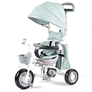Baianju Children's Tricycle Baby Stroller Folding Infant Child Bicycle Bicycle