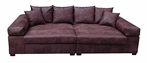 Big Sofa Couch Garnitur XXL Megasofa Riesensofa Wohnlandschaft Ultrasofa