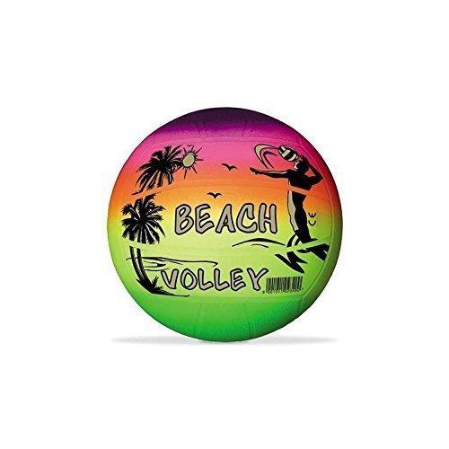 Lively Moments Beachball / Volleyball / Strandball / Spielball / Regenbogenball ca. 21,6 cm in Neon-Regenbogenfarben