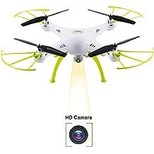 Syma X5HC 2.0MP HD Camera Barometer Altitude Hold RC Headless Quadcopter Drone White