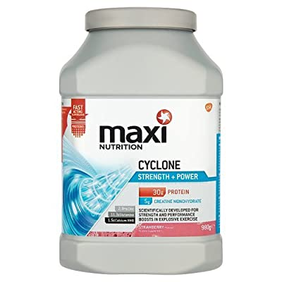 MaxiNutrition Cyclone Strength and Power Protein Shake Powder 1.26 kg - Banana by GSK Consumer Healthcare