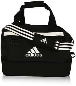 adidas Borsa Tiro 13 Teambag, con scomparto inferior, Nero (Schwarz), 61 x 27 x 28 cm, 75 litri