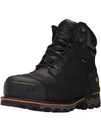 Timberland Amherst Leather LTT, Baskets Homme, Noir (Black Full Grain P01), 49 EU
