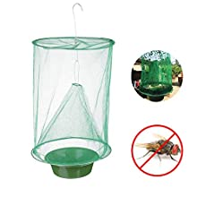KOSTOO Outdoor, 2019 Ranch Fly Effective Trap Ever Made for Flies/Mosquito/Bees, Green