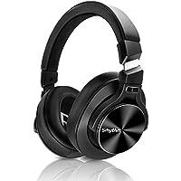 Drahtloser Kopfhörer mit Aktiver Geräuschunterdrückung - Bluetooth 5.0, SRHYTHM NC75 Pro Over-Ear Headphones mit CVC8.0-Mikrofon, Schnellladung, Hi-Fi, 40-Stunden Wiedergabezeit - Geringe Latenz