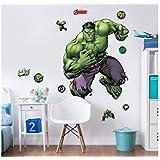 Walltastic–Marvel Hulk grande Character juego de adhesivos de pared (, multicolor