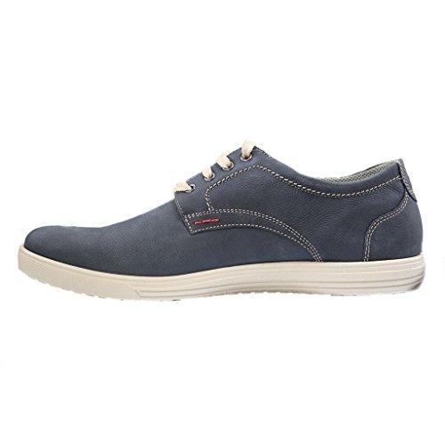 Jomos , Chaussures de ville à lacets pour homme Bleu