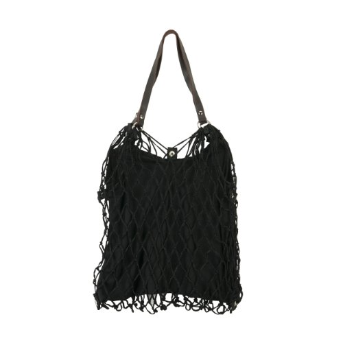 Kulturbeutel de Luxe Einkaufstasche schwarz