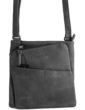 Jennifer Jones - kleine - schicke Damen Handtasche Clutch Umhängetasche Abendtasche Ausgehtasche Schultertasche...