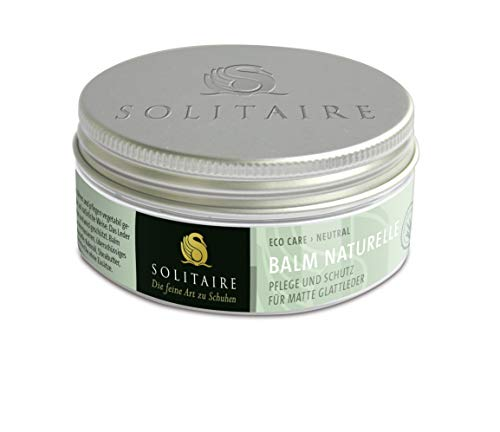 Solitaire Balm Naturelle, Eco Care, 75ml Schuhcreme & Pflegeprodukte, Transparent (Neutral) 75.00 ml