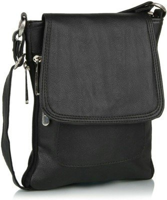 Pu clutches leather clutches for women -Black (side bag)  available at amazon for Rs.269