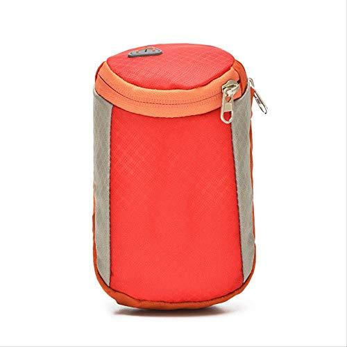 HPADR Sportarmtasche 6 Zoll Laufen Handy Arm Paket Männer Und Frauen Fitness-Tasche Läuft Gürtel Wasserdicht Eingtaschen 18cm * 10cm rot