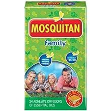 Mosquitan parches de parches de Mosquito Repelente de insectos–Pack de 24