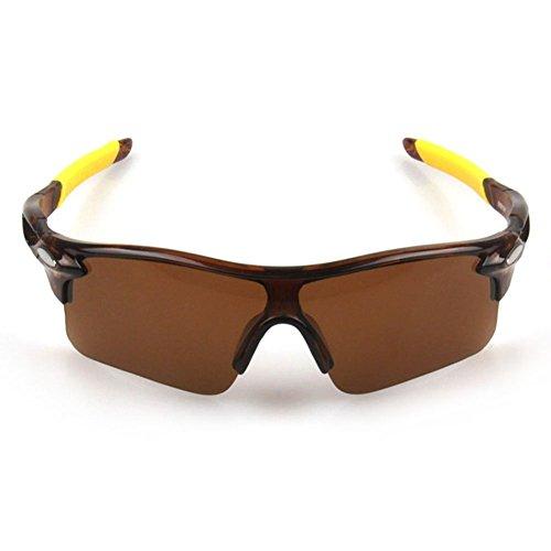 WeiMay gafas de sol de ciclismo, polarizado antideslumbrante lluvia día visión nocturna ciclismo gafas de sol deportivas gafas de sol para hombres mujeres ciclismo montar corriendo gafas de béisbol