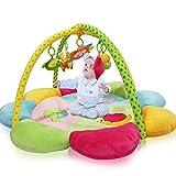 0-3 Jahre Alt Baby Fitness Rack Kinder Kriechen Matte Spiel Decke Baby Bett Spielzeug Hochwertige Tuch Sauber und Leicht Zu Tragen Entwicklung Gehirn Früherziehung Spielzeug