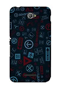 Sony Xperia E4 Back Case Cover by G.Store