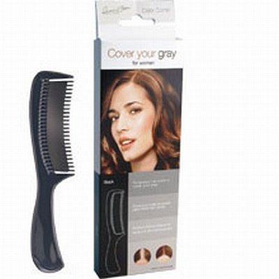 Peigne Noir 'Couvrez Vos Cheveux Gris'