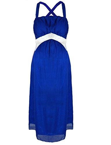 Pink Pixie - Robe spécial grossesse - Femme Bleu - Bleu