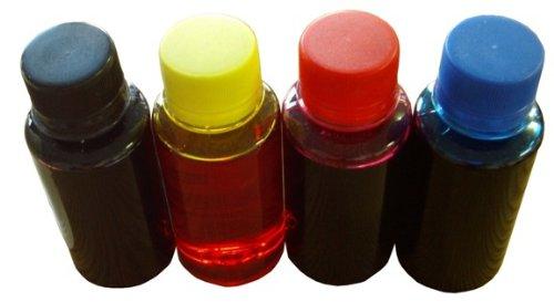 4x tinta rellenables sendos 100 ml adecuado Canon