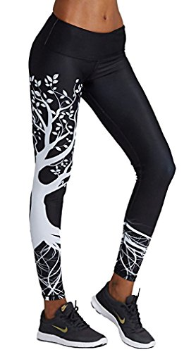 Topgraph Damen Training Tights Yoga Leggins Lang Laufhose Jogging Pants Fitness Sporthose