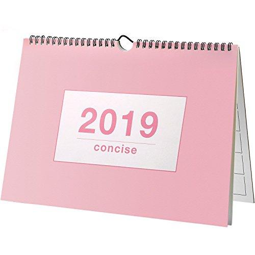 Neu August 2018 - Dezember 2019 Monatliche Schreibtischunterlage Kalender, Wandkalender Tagesplaner...