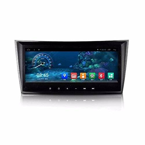 LIKECAR 8.8 Zoll 16GB 1.6GHZ 1024*600 Android 4.4 Quad Core Autoradio GPS Navi for Mercedes Benz E-Class W211 2002-2008 (E200,E220,E240,E270,E280,E300,E320,E350,E400,E420,E55,E500), Mercedes Benz CLK W209 2005-2006,Mercedes Benz G-Class W463 G350 G500 G55