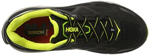 Hoka One Challenger Atr 3, Scarpe da Trail Running Uomo Nero (Black/bright Green/citrus)