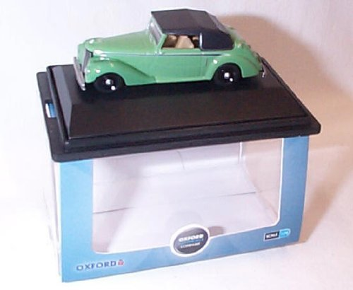oxford armstrong siddeley hurricane closed green car 1.76 railway scale diecast model by Oxford Green Hurricane