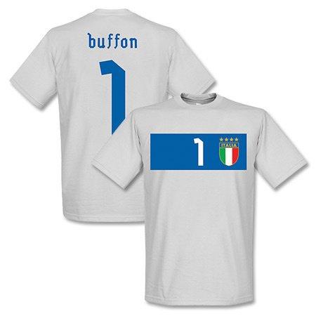 Italy Buffon Banner T-Shirt - grau-XL